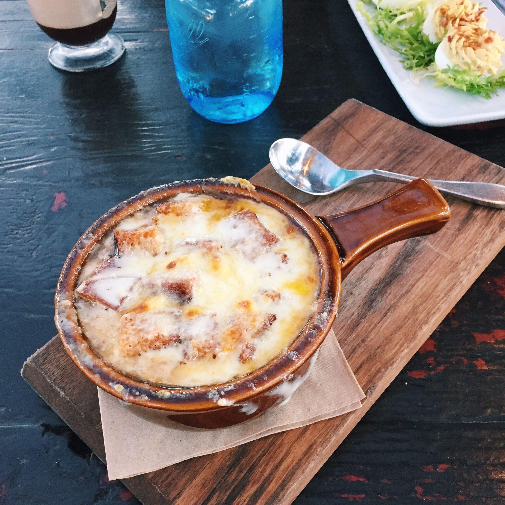 The French Onion Soup At Bo Beau Kitchen + Garden #SDRW