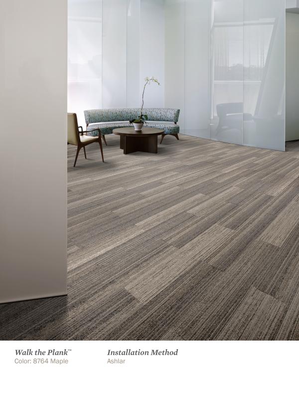 Interface Skinny Plank Carpet Tiles Carpet Tiles Office
