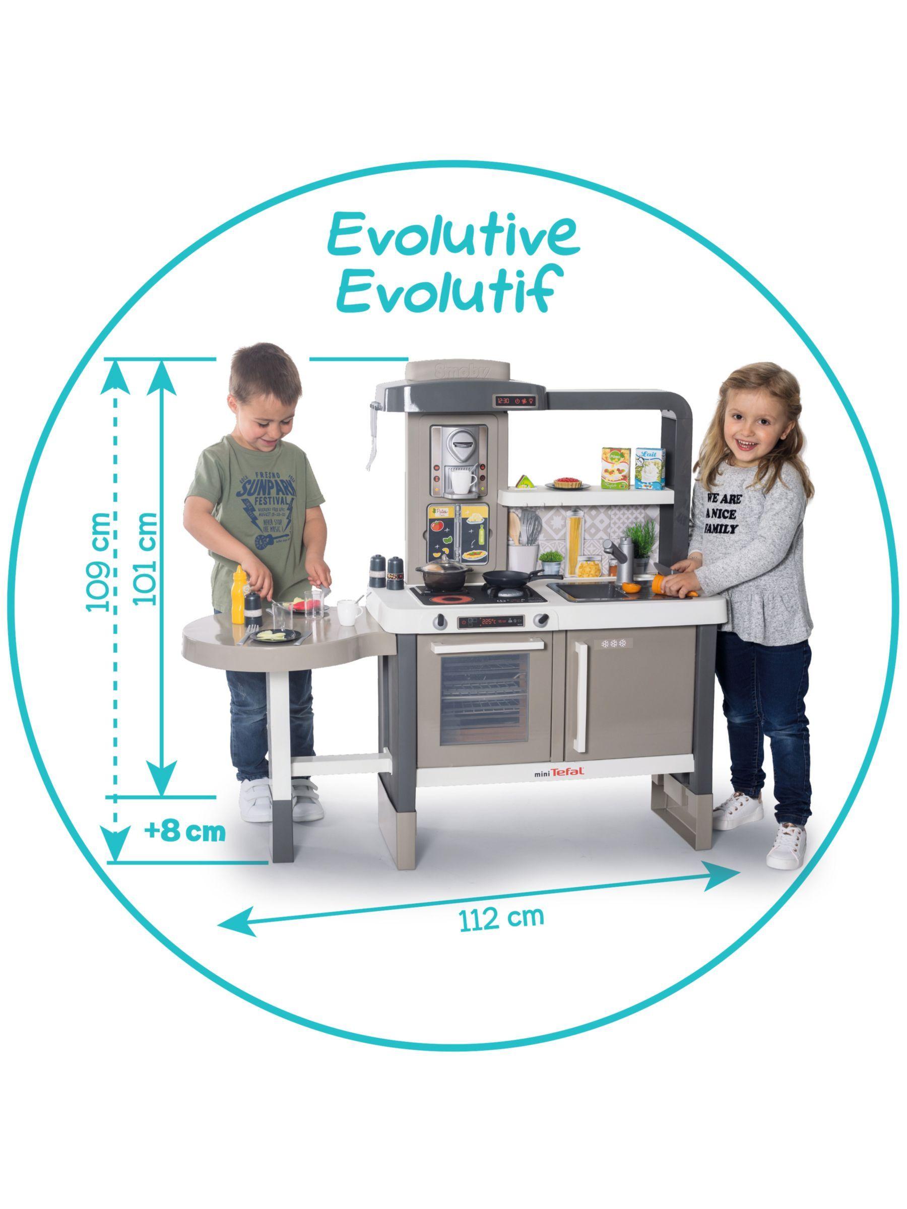 Smoby Tefal Evolving Kitchen Kitchen Baseboards Countertops