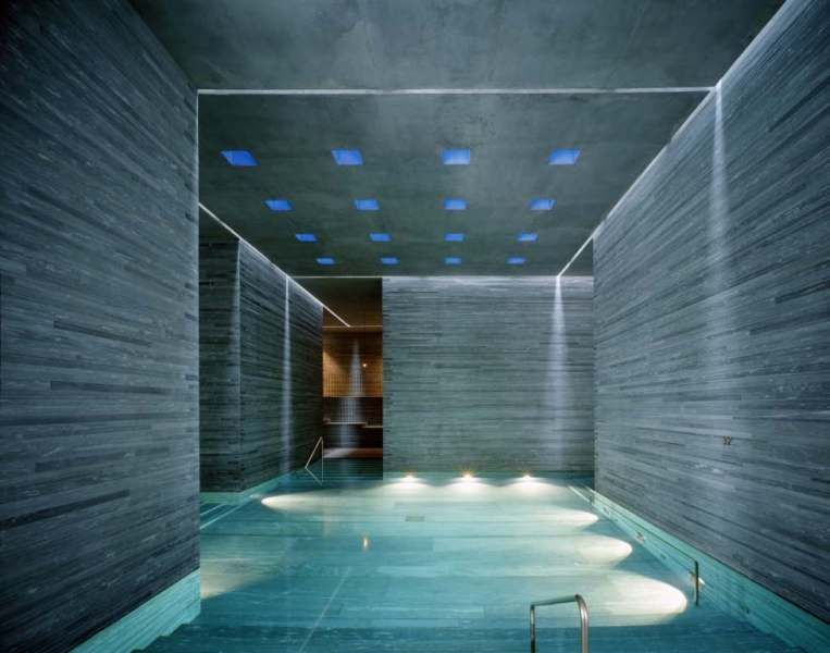 Therme Vals, Vals (CH), by Peter Zumthor | Interior Design ...