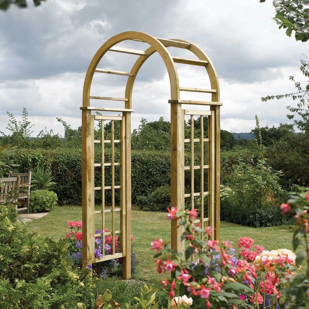 Round Top Garden Arch Garden Arches Garden Archway Arch Trellis
