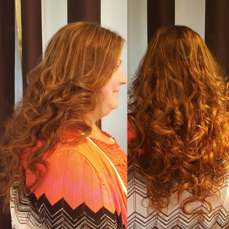 Beautiful Dream Catcher Hair Extension By Allison At Elle Salon Ltd This Client Wanted Curly