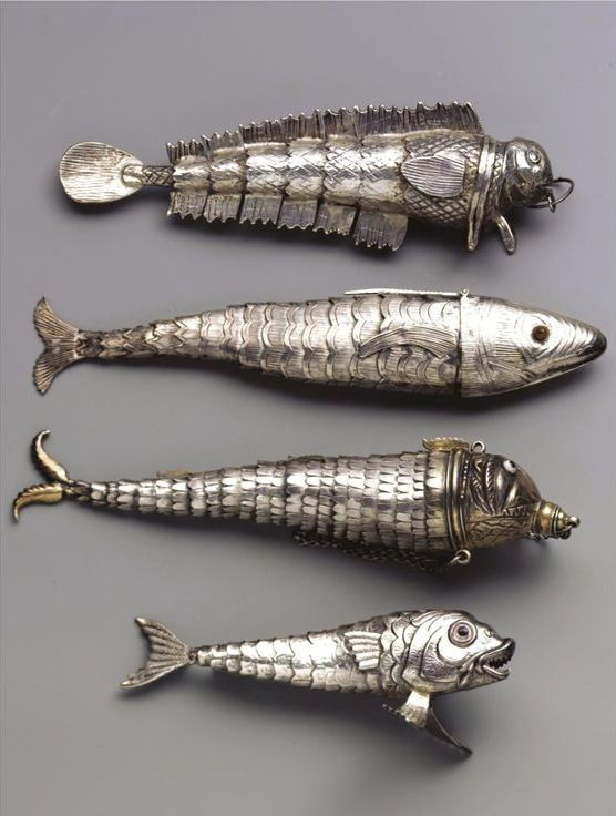 Fish pendants collections pinterest fish pendants and jewel vintage silver fish charms love my articulated fish pendant necklace that i got from my gran many years ago aloadofball Image collections