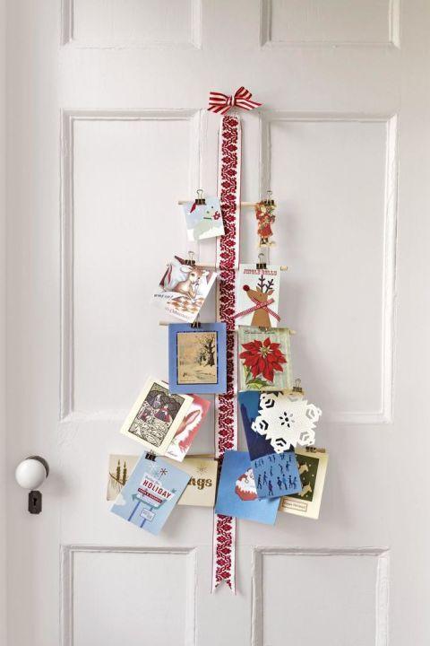 Display Your Season S Greetings With These Beautiful Diy Christmas Card Holders Christmas Card Display Fun Christmas Decorations Christmas Crafts Diy