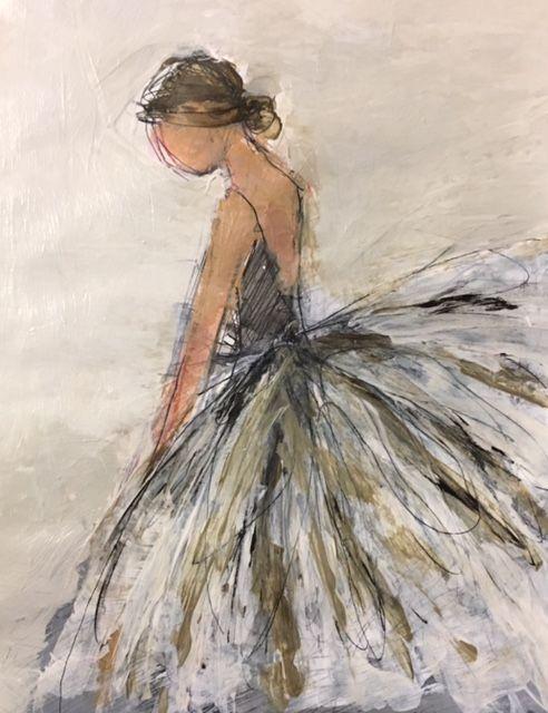 Holly Irwin Fine Art  #primaballerinaart #wasserfarbenkunst