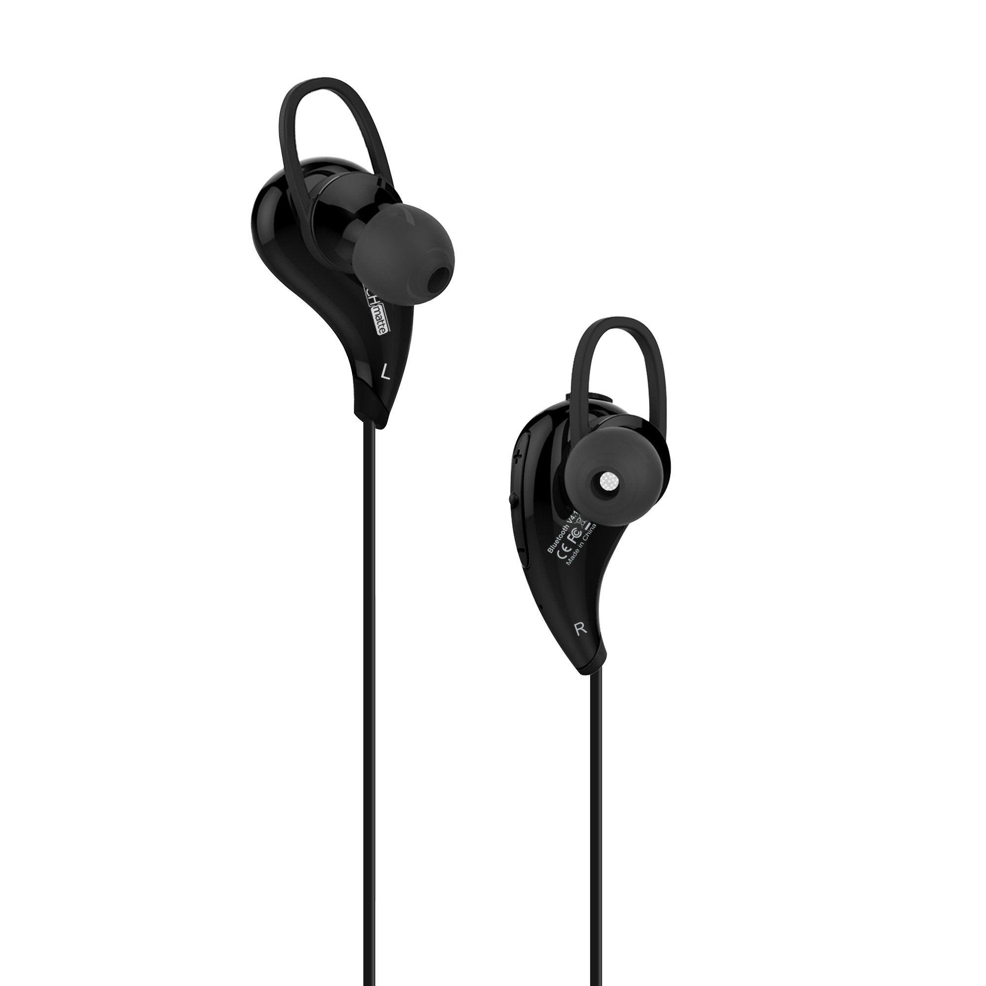 Iphone 8 Bluetooth Headphones Techmatte Bluetooth Earbud Headphones For Apple Iphone X 8 8 Plus 7 6s Earbud Headphones Phone Accessories Samsung Headphones