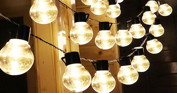 Outdoor bistro solar powered globe string lights rama deals outdoor bistro solar powered globe string lights rama deals aloadofball Image collections