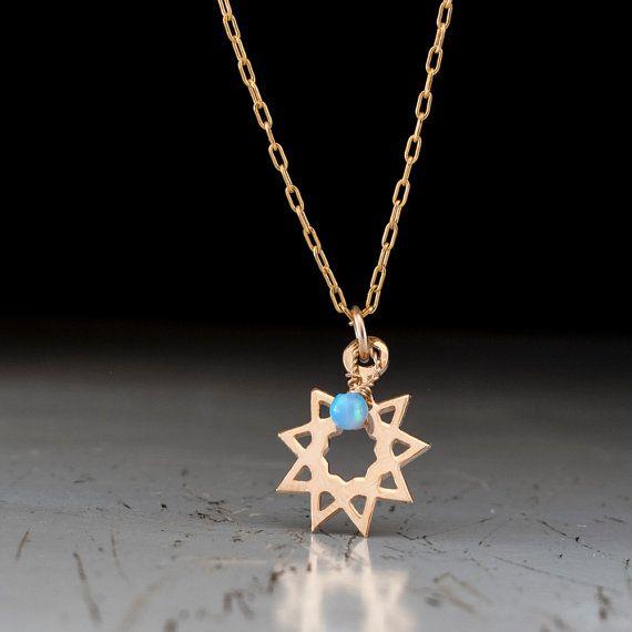 Nine-Pointed Star Pendant