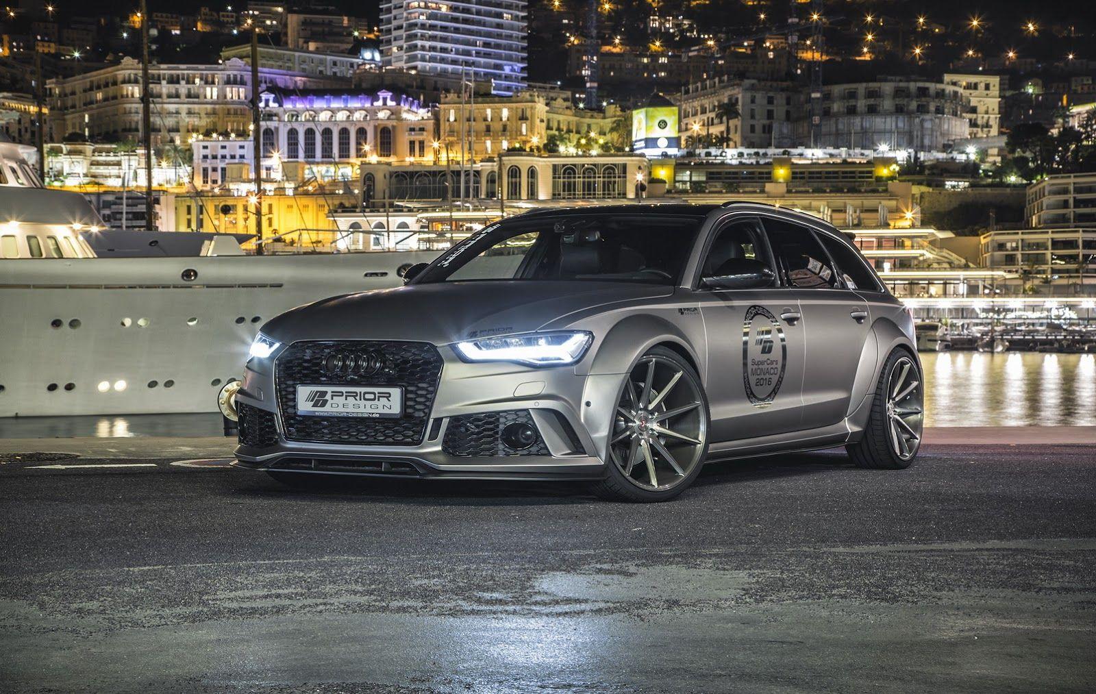 Prior Design Pumps Up Audi A6 Avant And Rs6 Audi Rs6 Audi A6