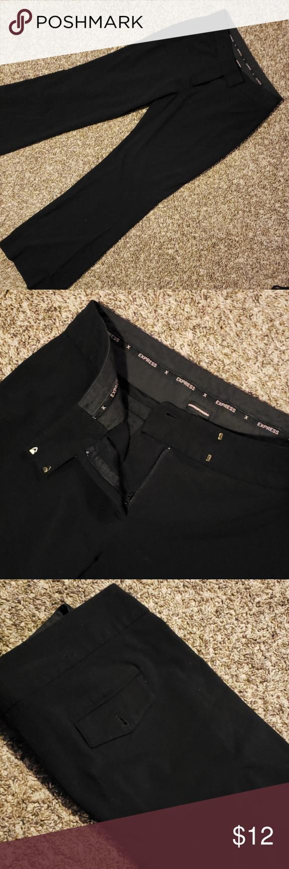 3 12 Express Correspondent Dress Slacks Dress Slacks Clothes Design Black Dress Pants [ 1740 x 580 Pixel ]