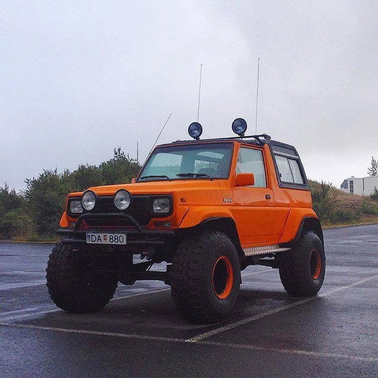 Daihatsu 4x4: Daihatsu Rocky