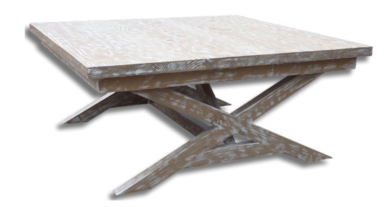 Alma coffee table  39sqx17h