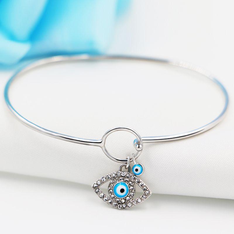 OKI-NI 925 Sterling Silver Bracelet Womens Bracelets Simple ...