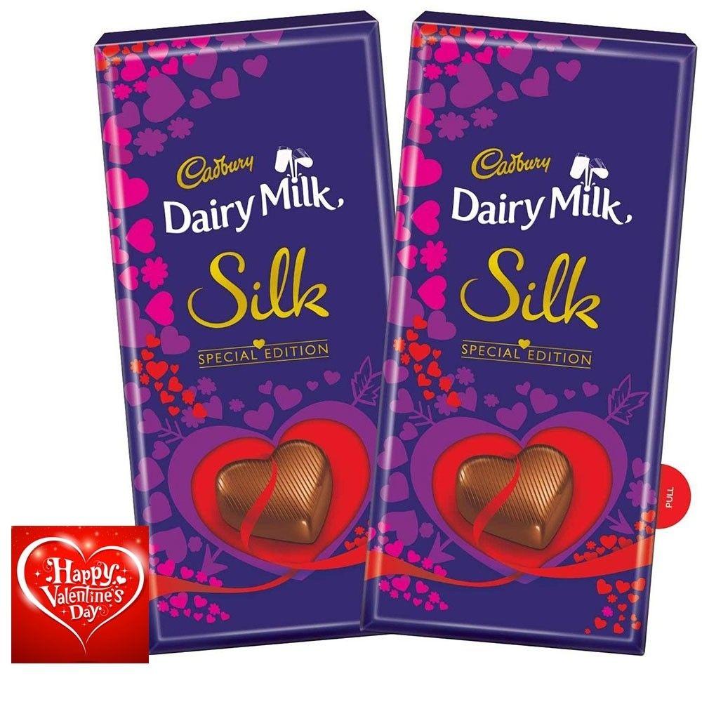 Cadbury Dairy Milk Silk Valentine Special Edition Gift Pack