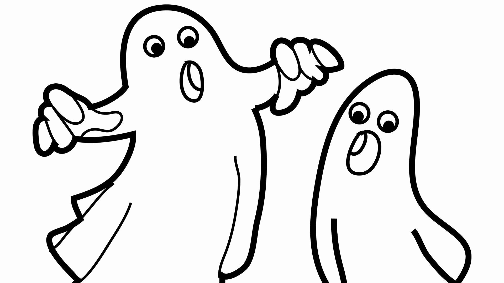 Ghost Printable Coloring Pages Di