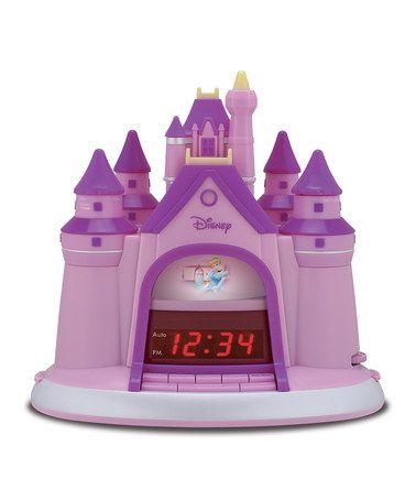 Pink Castle Story Telling Alarm Clock
