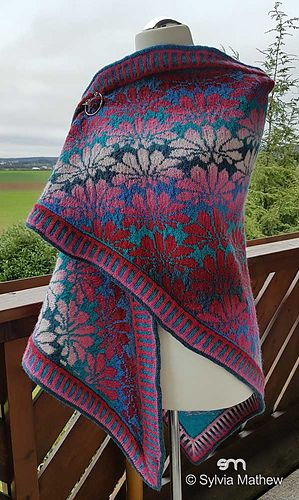Tribute to Monet pattern by Sylvia Mathew | Pinterest | Tücher ...