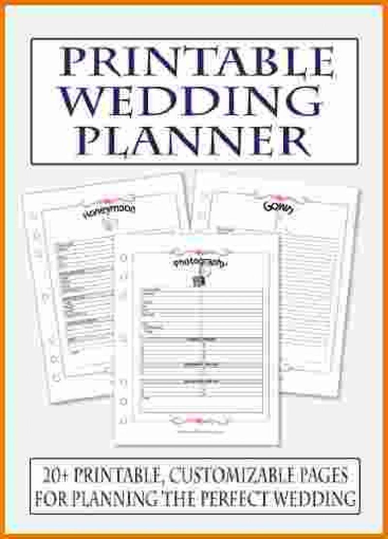 Awesome Diy Wedding Planner Printables Diy wedding