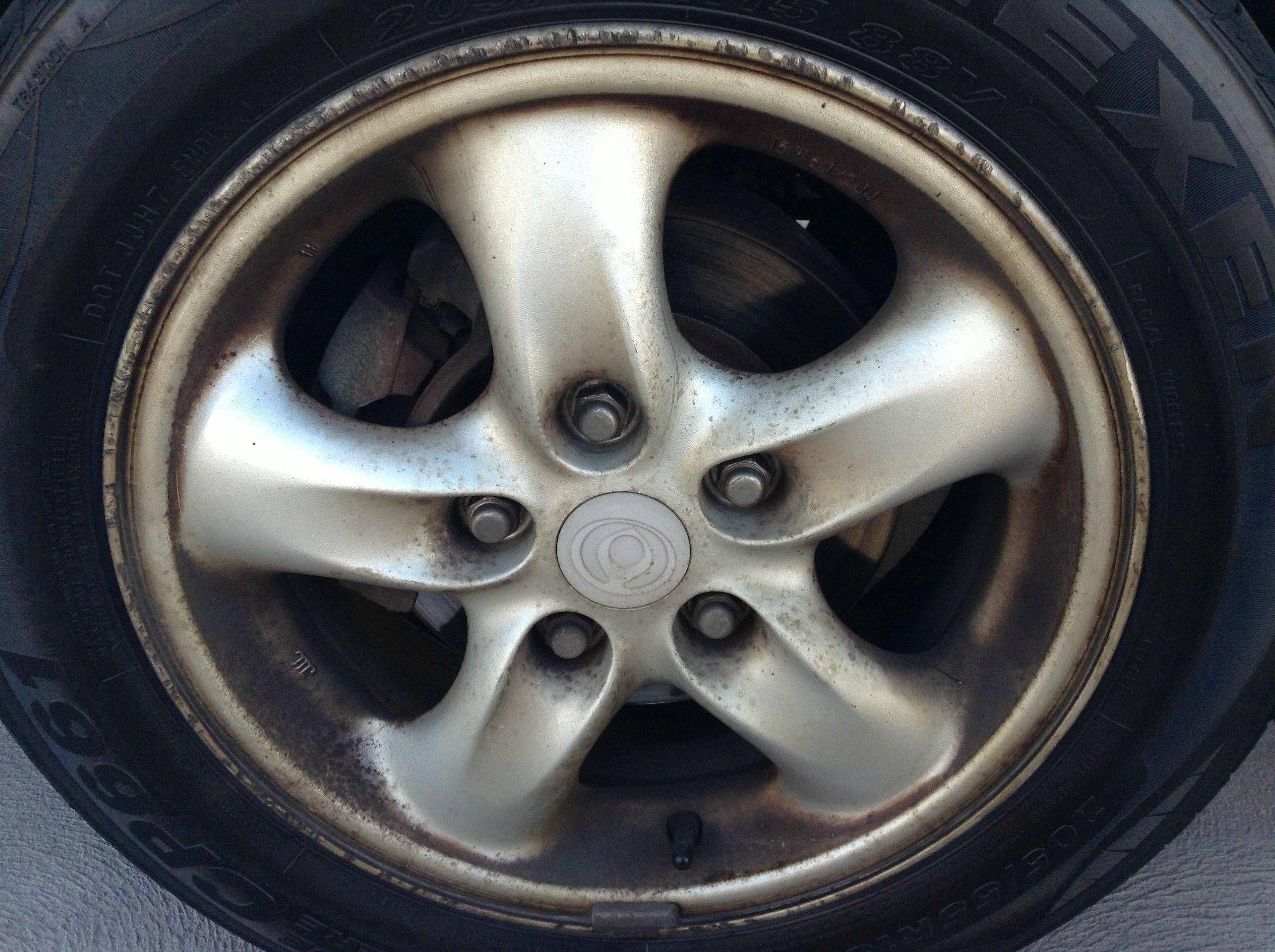 How to clean car wheels car wheels car wheels diy car
