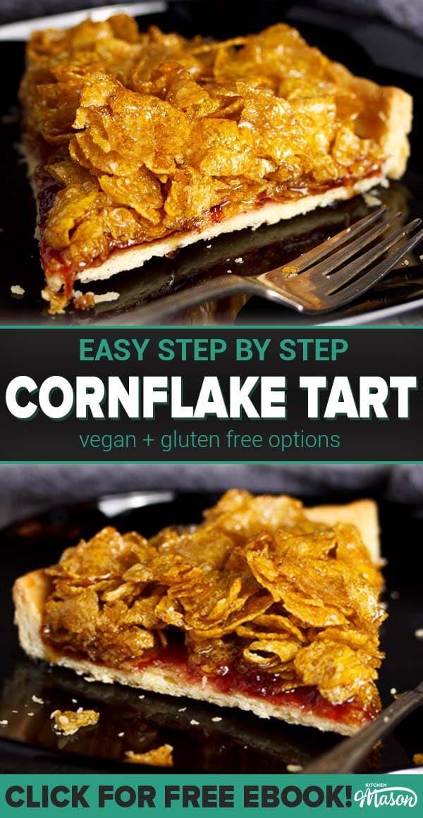 Photo of Wie man Cornflake Tart macht | Einfaches Schritt für Schritt Bildrezept + Video