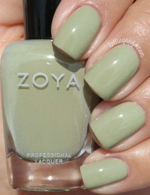 Zoya Ireland // @kelliegonzoblog | my nails | Pinterest