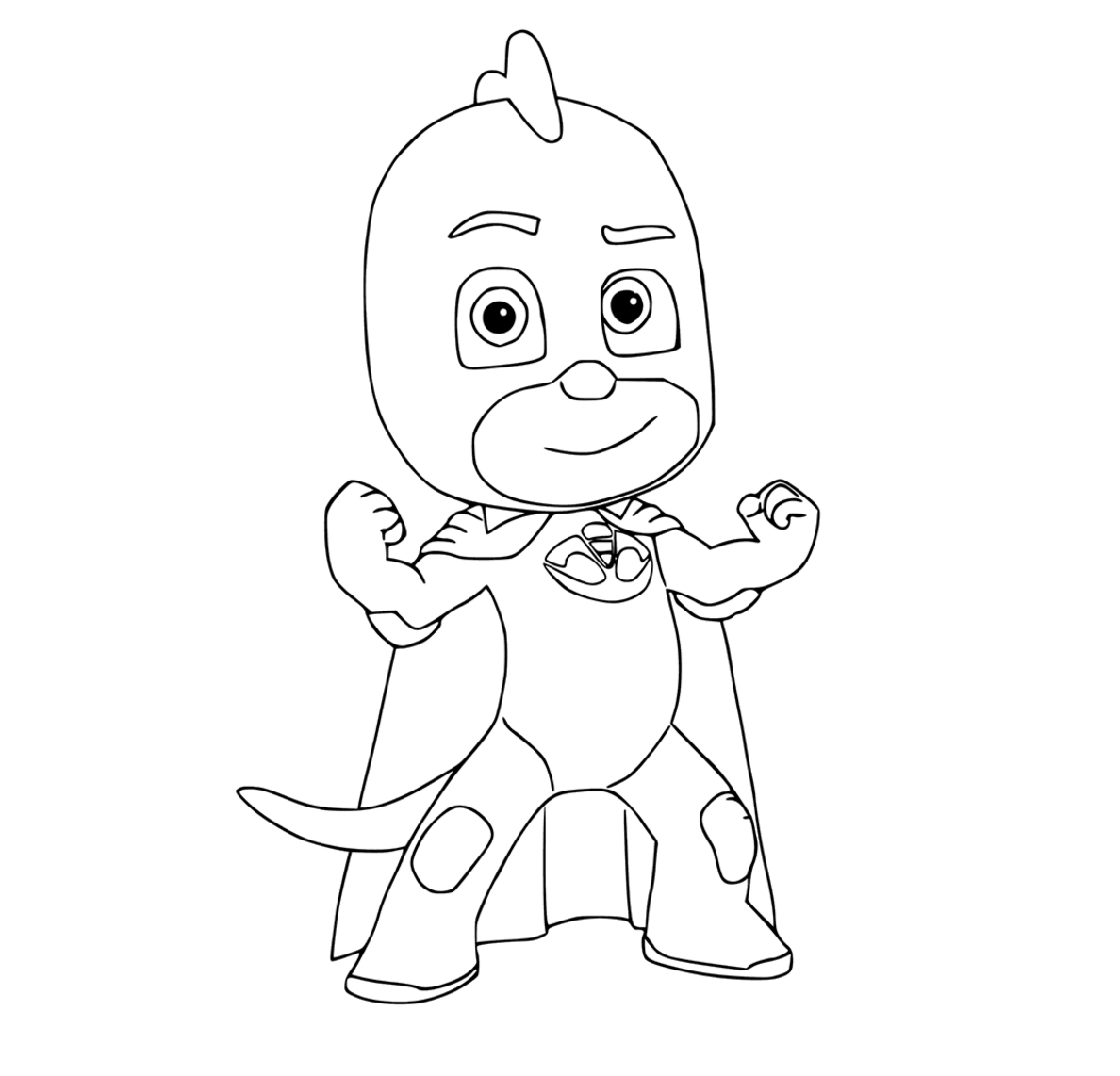 PJ Masks coloring pages to download and print for free | festas ...