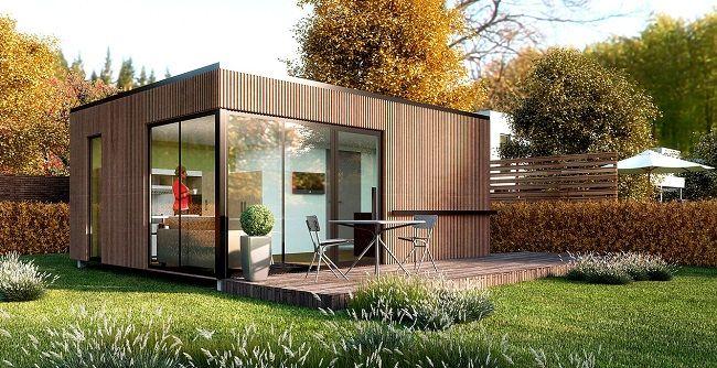 Des maisons fabriquées en France avec des containers recyclés France - Combien Coute Une Extension De Maison