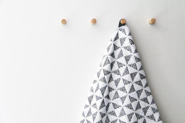 Luhta Origami towels via Bambula