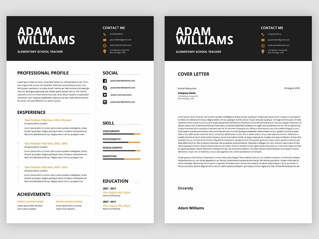 Ms Word Resume Templates Resume design professional