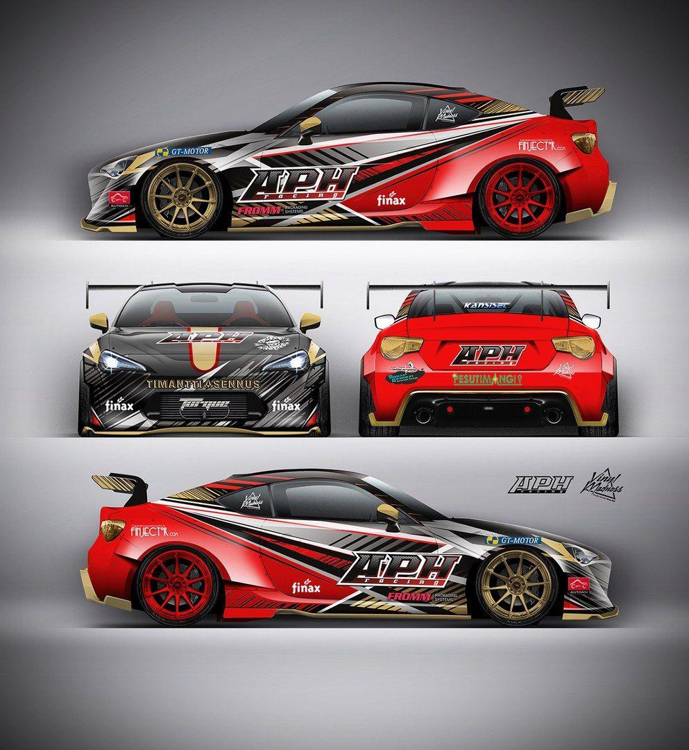 Brz Aph Car Wrap Design Car Graphics Car Decals Vinyl
