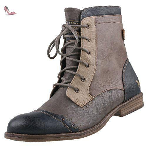 Mustang BootyBottes Pour Femme Damen Bleugris 45 Chaussures Nn80mw