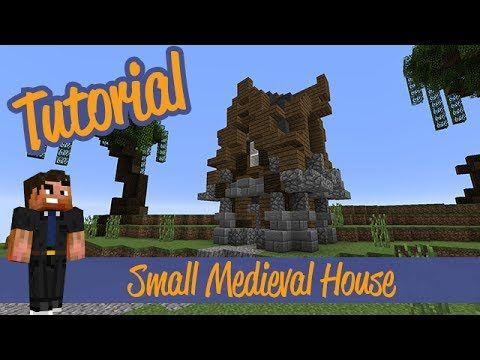 Minecraft Tutorial Small Advanced Villager Rustic Meval House This Will Show You How To Build A