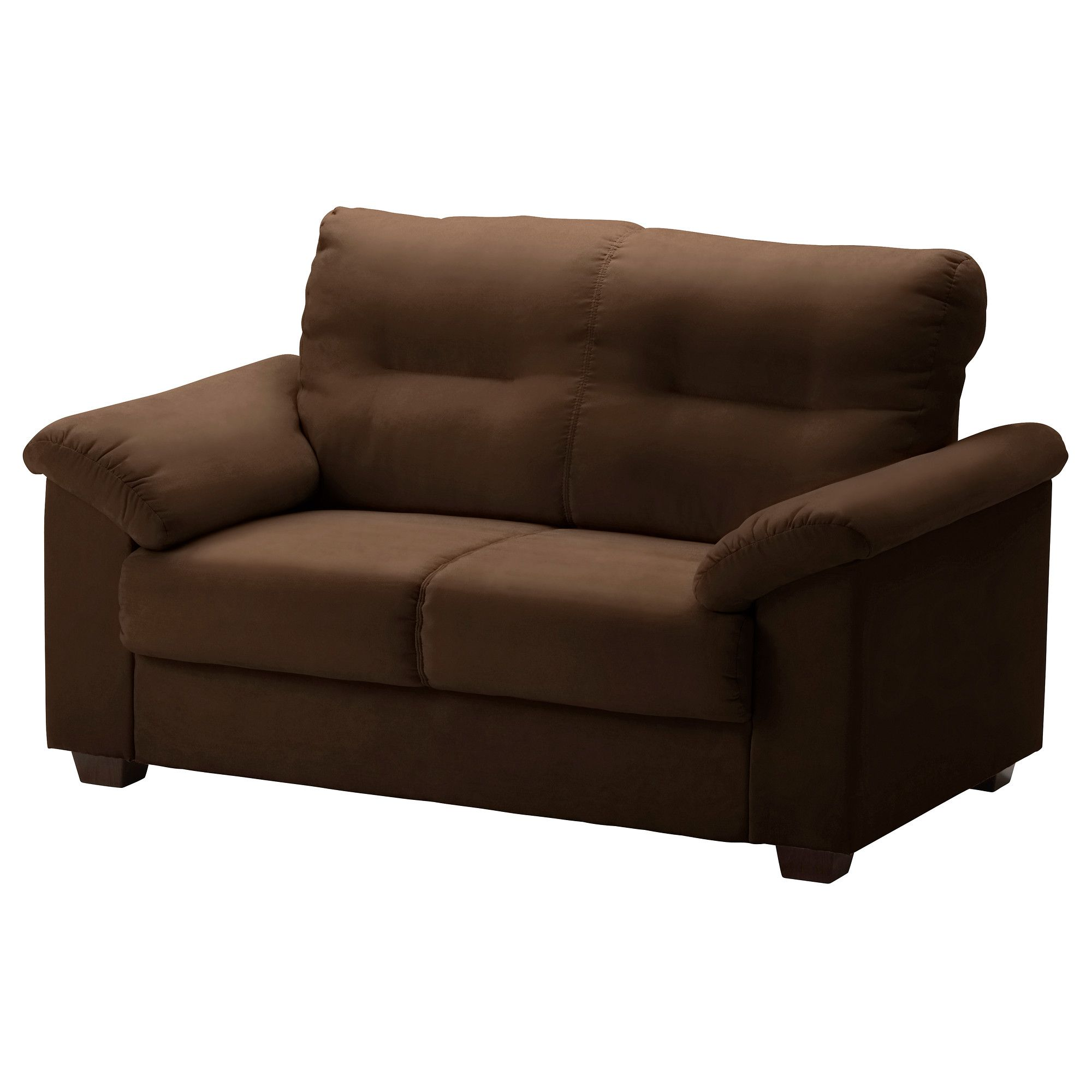 KNISLINGE Loveseat   Kungsvik Dark Brown   IKEA (put This In The Family  Room And