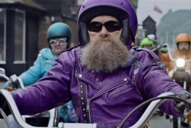 Pastels Are the New Black for These Badass Bikers - Video - Creativity Online