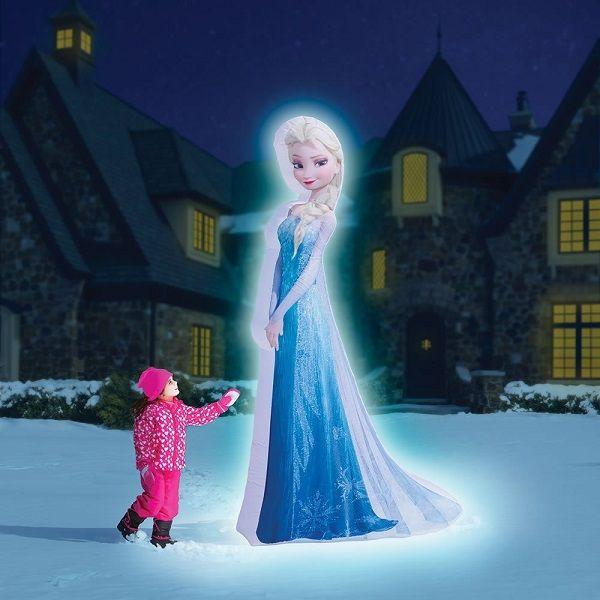 disney frozen 8 ft lighted photorealistic elsa christmas inflatable frozenelsa