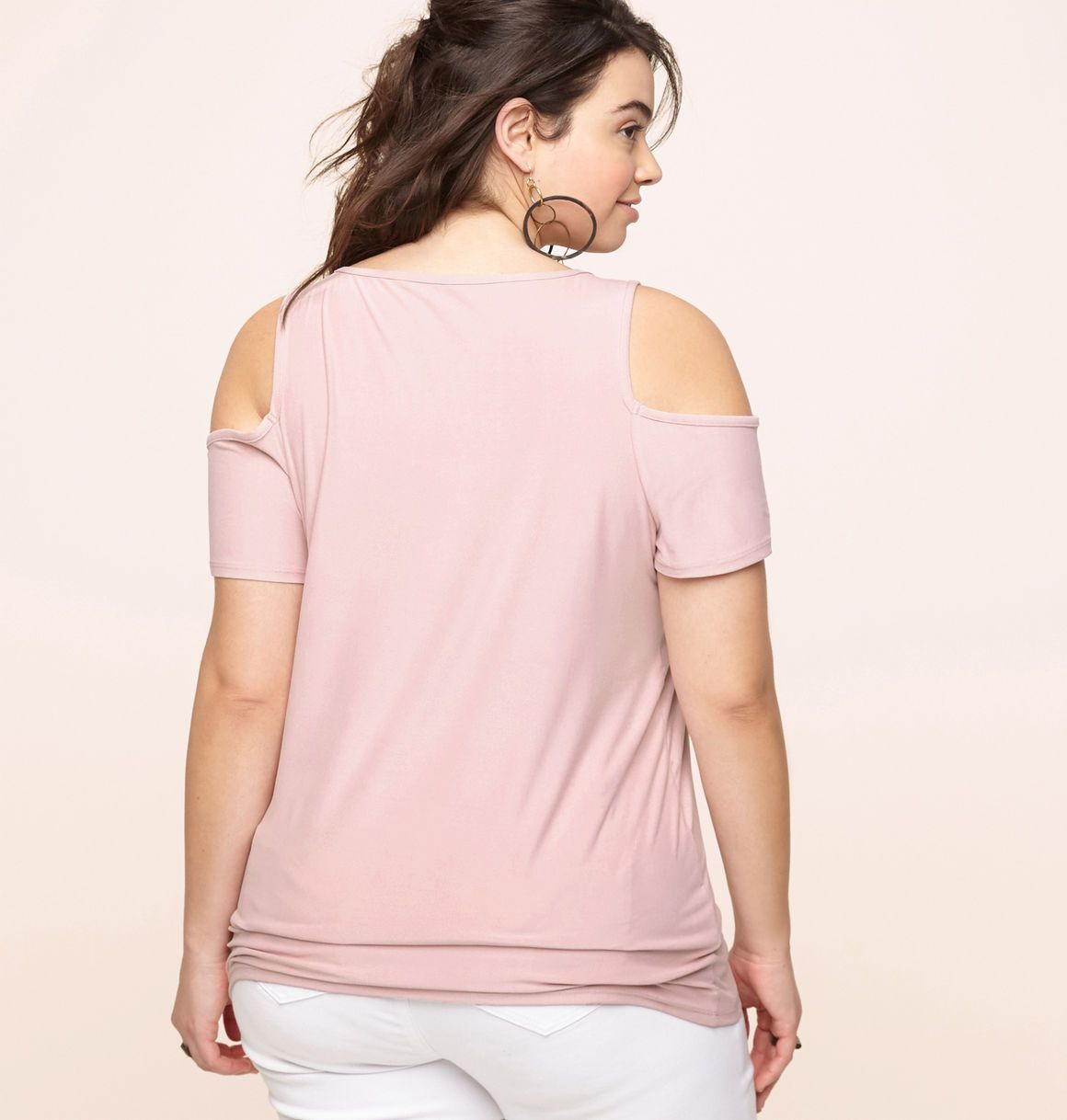 e12082f73ceee Get new trendy tops like our plus size Cold Shoulder Top available in sizes  14-24 online at loralette.com. Avenue Store