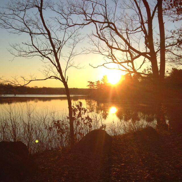 Horn Pond, Woburn MA 7am