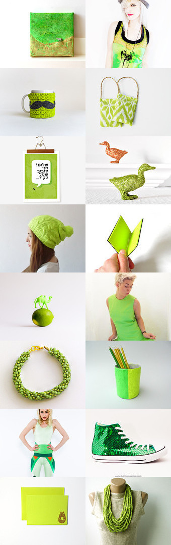 Neon...here! by Christa Mavropoulou on Etsy--Pinned with TreasuryPin.com