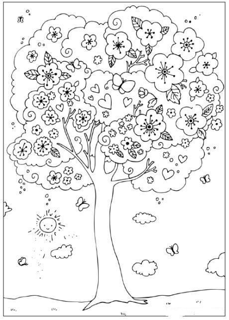 Planse De Colorat Primavara De Colorat P29 Desene De