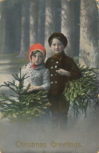German Christmas kids