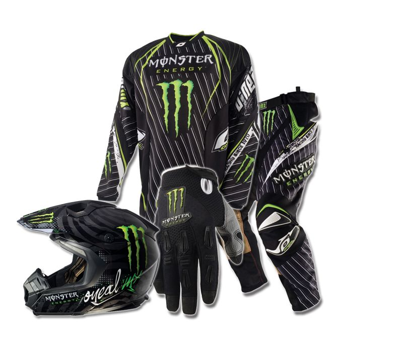 Monster Dirtbike Gear Ricky In 2020 Dirt Bike Gear Bike Gear Riding Gear