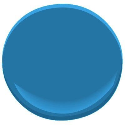 a maybe color -   Benjamin Moore Blue Macaw - in chalkboard paint!