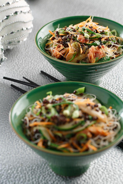 Blue apron lentil spice blend - Kimchi Rice Noodle Beluga Lentil Salad