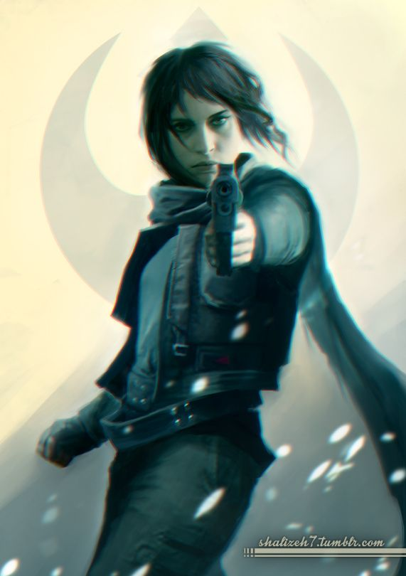 Shalizeh7 Jyn Erso From Rogue One Trailer Star Wars