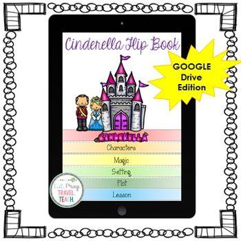 Digital Cinderella Flip Book | Classroom Technology 21st