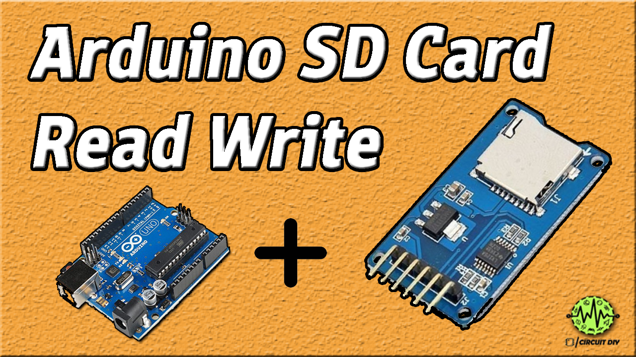 hello , today in this video tutorial i am going to show you step byhello , today in this video tutorial i am going to show you step by step how to interface sd card module with arduino \u0026 how to read and write data to