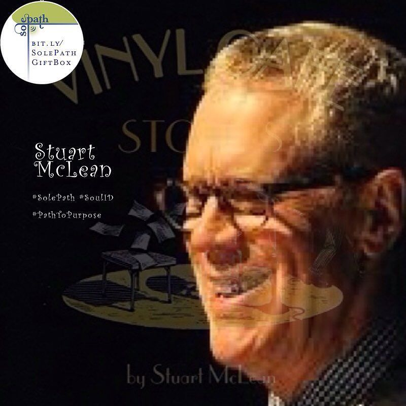"""Stuart McLean was a Canadian radio broadcaster humorist monologist and author best known as the host of the CBC Radio program The Vinyl Café. Often described as a """"story-telling comic"""" his stories addressed both humorous and serious themes. He was known for fiction and non-fiction work which celebrated the decency and dignity of ordinary people. His stories often highlighted the ability of his characters to persevere with grace and humour through embarrassing or challenging situations…"""
