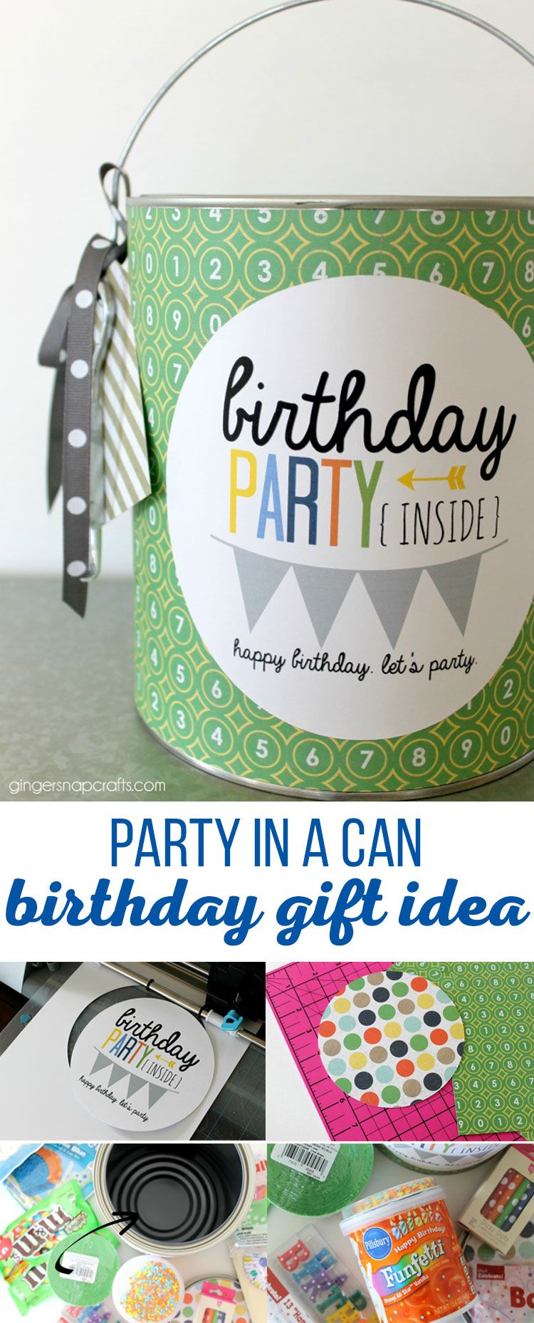 Party In A Can Birthday Gift Idea Is The Perfect For Anyone Living Away From Home Send Them