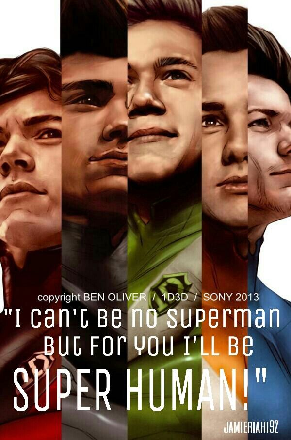 I Added The Lyrics You Will And Are Our Super Humans One Direction Pictures One Direction Photos One Direction