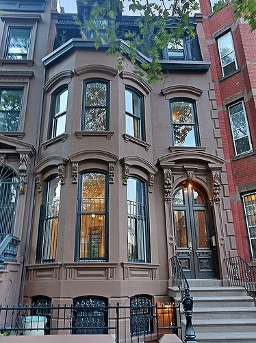 Brooklyn vanderbilt avenue brownstone 2 7 townhouse for Brownstone townhouse plans